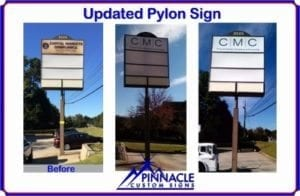 Pylon Sign Update