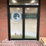 directional window graphics