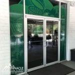 Green Egg Entrance Graphics