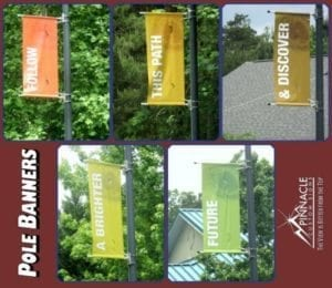 Pole Banners | Pole Signs
