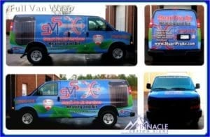 Full Van Graphic Design Wrap | Vinyl Wrap for Van