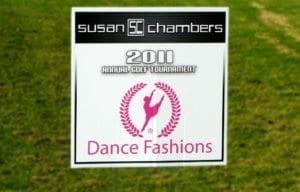 Golf-Tournament-Hole-Sponsor-Sign-Susan-Chambers-Dance-Company