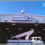 Sign for Gwinnett Aero