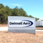 monument sign for Gwinnett Aero