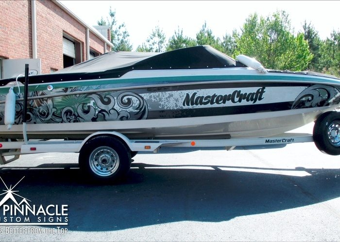 Keith Allen Boat Wrap