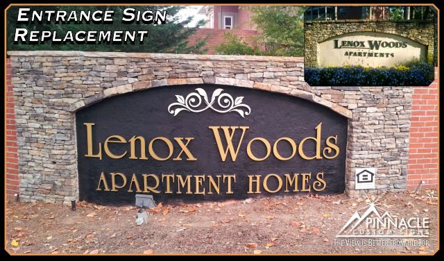 We offer custom outdoor building signs like monument signs and more.