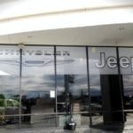 window graphics for a car dealership