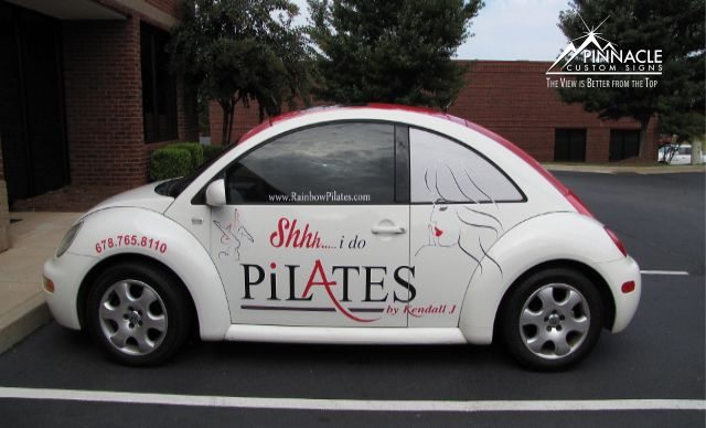 Partial-Car-Wrap-Rainbow-Pilates1