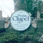 custom monument sign for Pristine Chapel