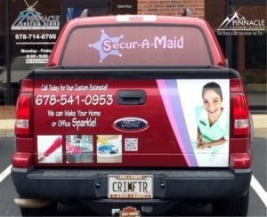 Secur-A-Maid-Truck-Graphics1