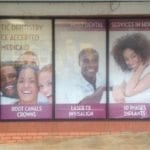 window graphics for Stone Mountain Dental
