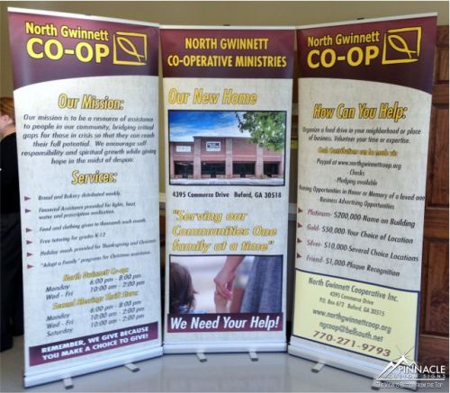 Tradeshow Display - Standing Banner