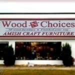 Sign for Wood'n'Choices