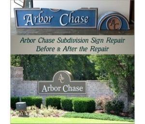 arbor_chase_sign_repair