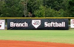 Branch Softball banner