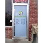 Gulf Coast Grill Door Window Graphics