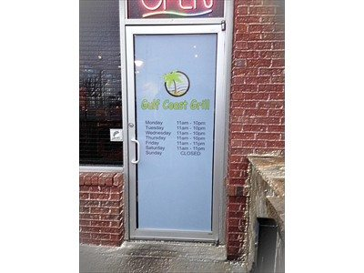 Window Graphics Vinyl Window Lettering - Window decals for business atlanta