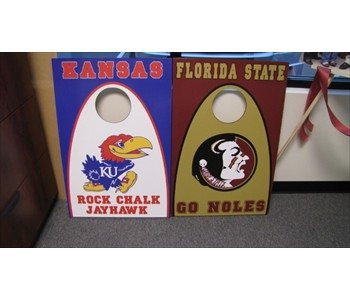 Custom corn hole games