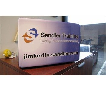 A computer wrap for Sandler Training