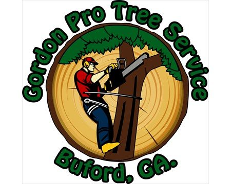 Gordon pro tree services logo design