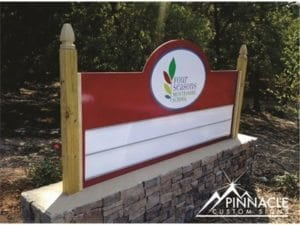 monument_sign_four_seasons_montessori_school