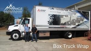 Box Truck Wrap | Dimensional Design