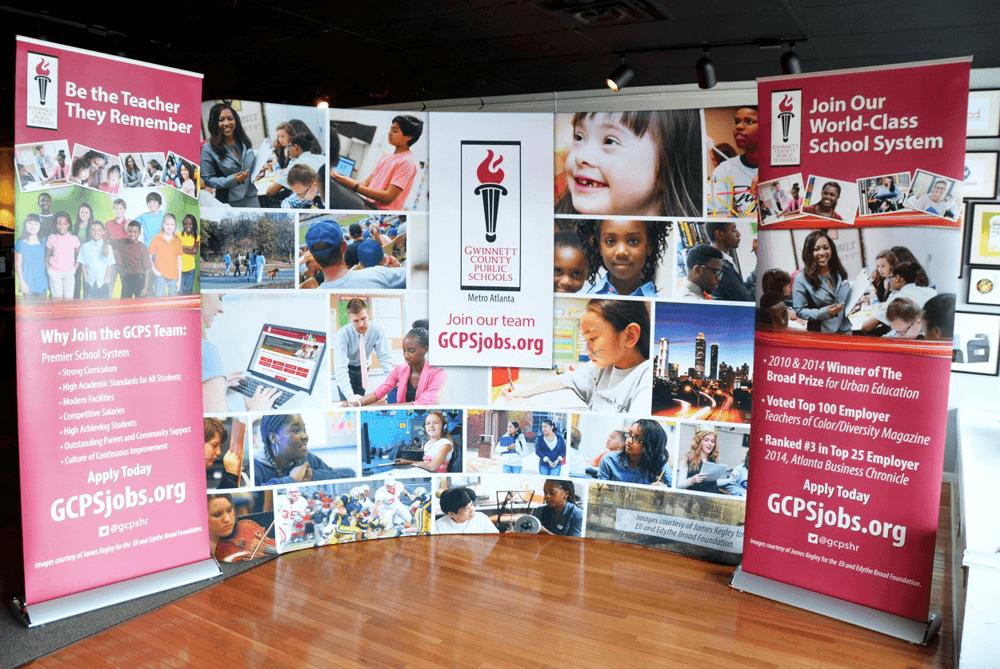 GCPS Trade Show Display