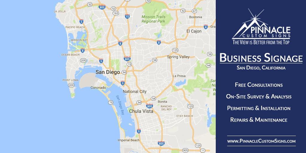 Business Signage San Diego CA