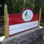 Four seasons Montessori School Monument sign