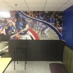 Sport wall graphic
