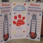 Fundraising sign for Wildcat