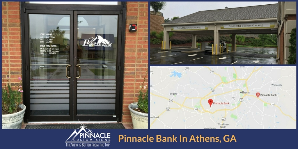 Pinnacle Bank opened a new location in Athens in 2017