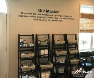 using wall graphics to add your mission statement to your location