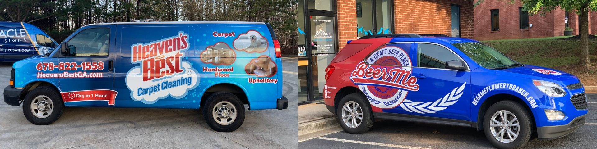 We provide custom car wraps for any vehicle