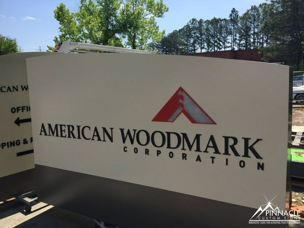 American Woodmark Corp Monument Sign