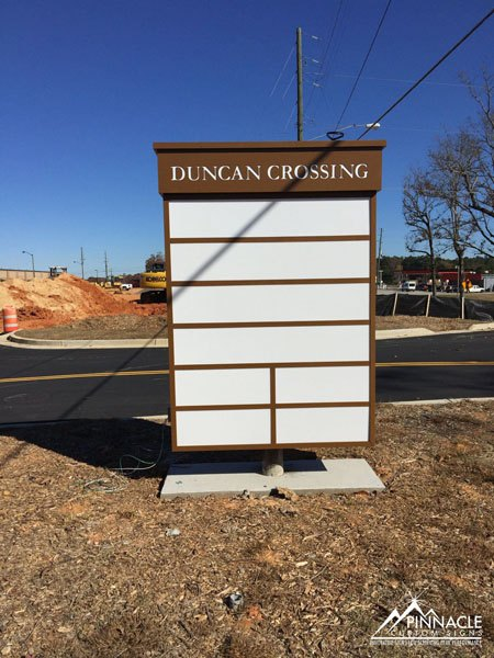 Duncan Crossing Marquee Sign