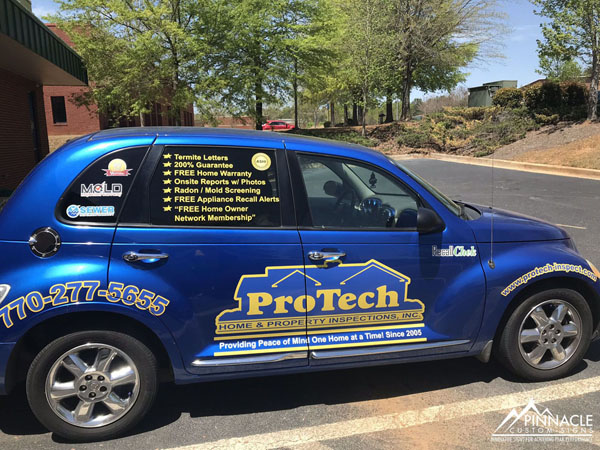 Car wrap for Protect Inspect