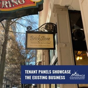 Historical Tenant Signs for the Historical Healey Building