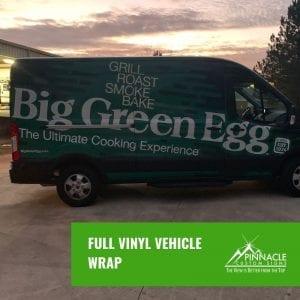 Van wrap for the Big Green Egg