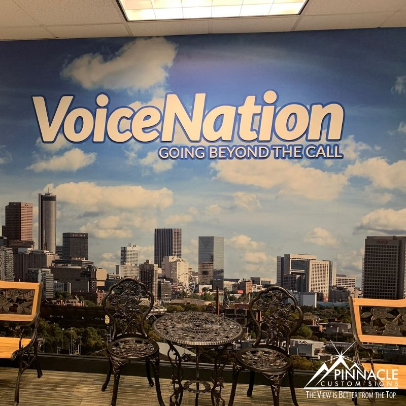 Voice Nation Wall Graphics
