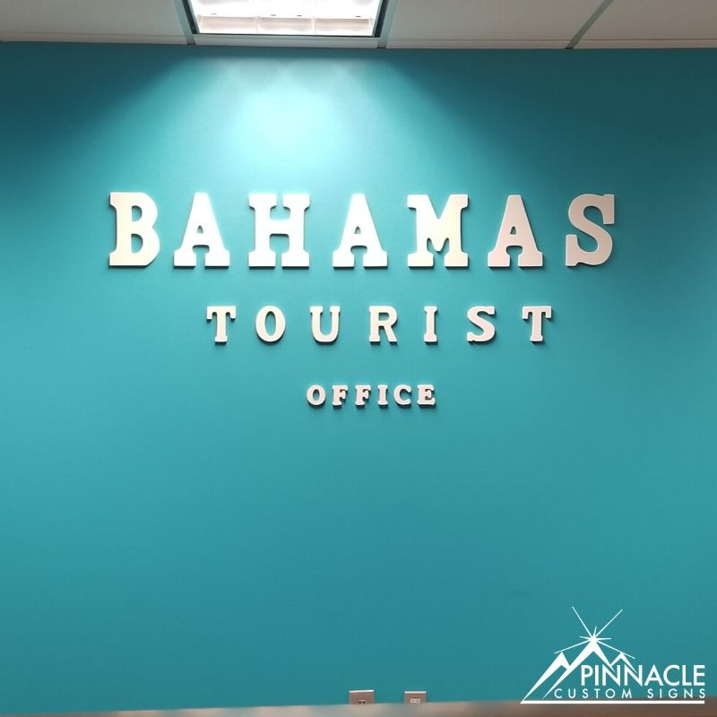 Custom Lobby Sign for Bahamas