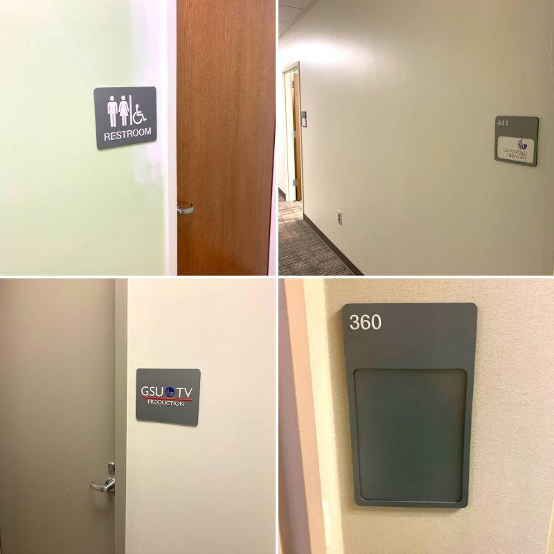 office door plaques